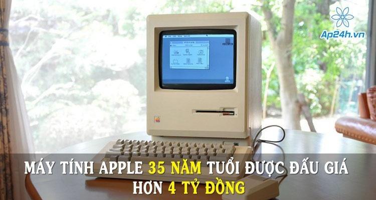 Máy tính Apple 35 năm tuổi được đấu giá hơn 4 tỷ đồng