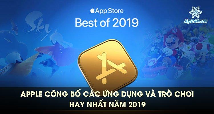 Apple công bố các ứng dụng và trò chơi hay nhất năm 2019