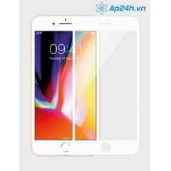 MIẾNG DÁN CƯỜNG LỰC MIPOW KINGBULL 3D GLASS SCREEN PROTECTOR IPHONE 8PLUS WHITE