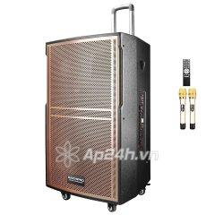Loa Kéo Di Động Karaoke Bass 40 Daichipro DCP-15A (800W) 4 Tấc