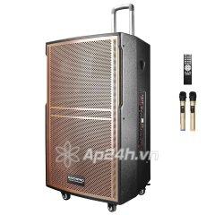 Loa Kéo Di Động Karaoke Bass 30 Daichipro DCP-12A (600W) 3 Tấc